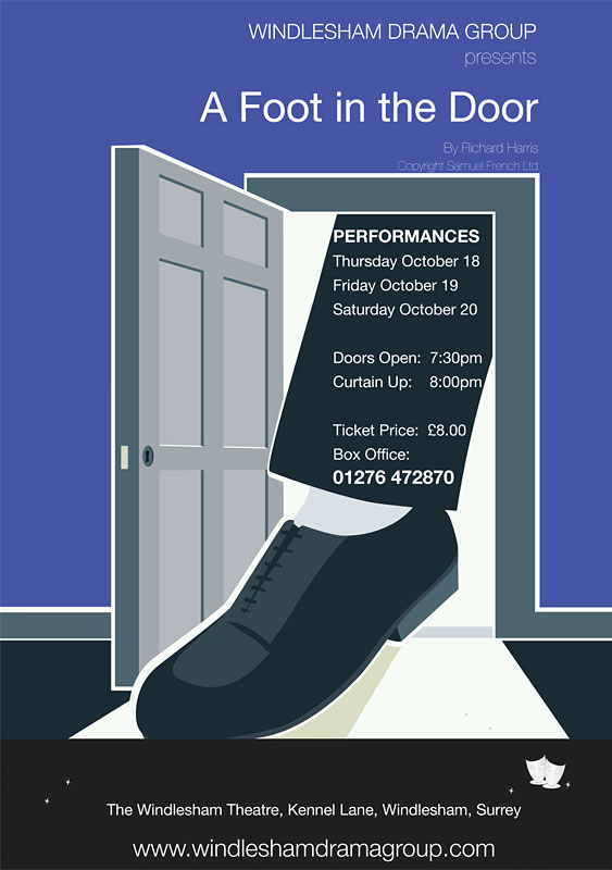 A Foot In The Door Poster
