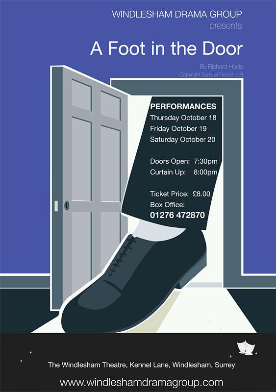 A Foot In The Door Poster
