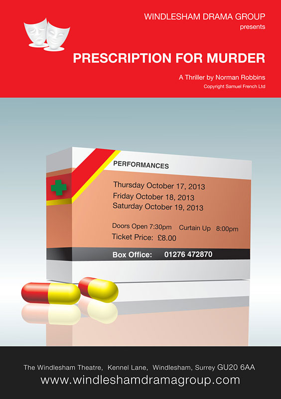 Prescription for Murder Poster