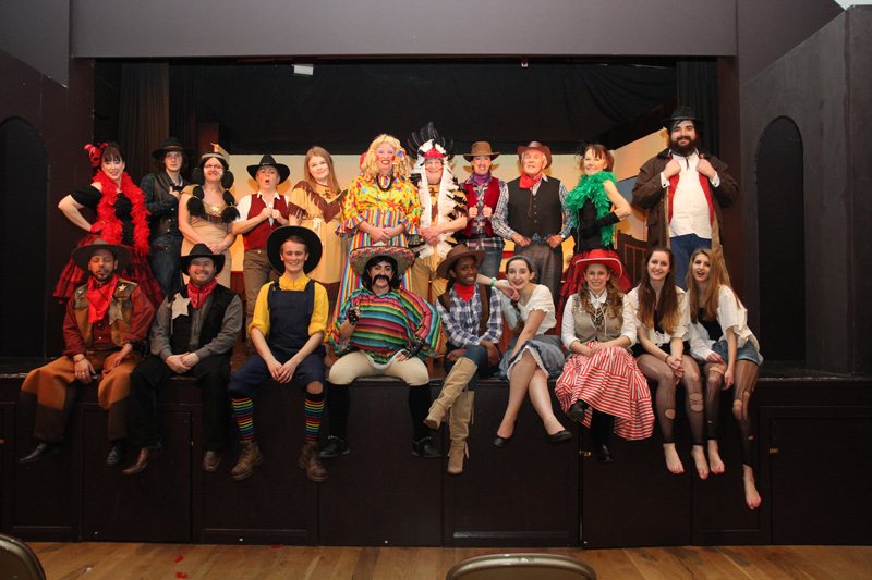 The Good The Bad and The Panto Cast