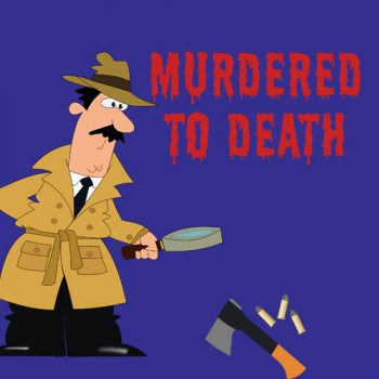 Murdered to Death production at the Windlesham Drama Group