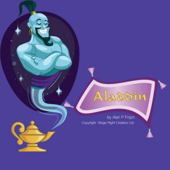 Aladdin production by Windlesham Drama Group